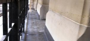 balcon en plomb