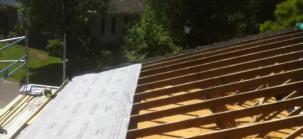 isolation de toiture par l'interieur